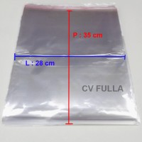 Promo Plastik OPP Ukuran 28 x 35 cm 04 mikron 500 lembar