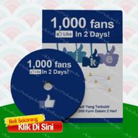 1000 Fans Like in 2 days dari Facebook | Banjir FB Fans | Likes | Cara