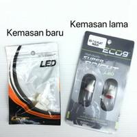 Lampu LED T10 1 Titik Merk Luminos / Eco9