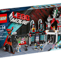 Koleksi super LEGO 70809 The Lego Movie Lord Business Evil Lair
