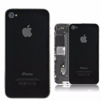 Apple Iphone 4s Back Glass Spare Part Original Replacement HITAM
