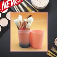 make up brush 12 set in tube/ kuas rias make up 12 set