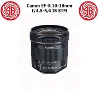 Jual Lensa Canon EF-S 10-18mm F4,5-5,6 ; Canon Lens 10-18mm IS STM ; Wide Murah