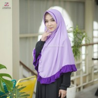 zakiya ukuran L Zawaya Hijab Jilbab Syar'i Daily