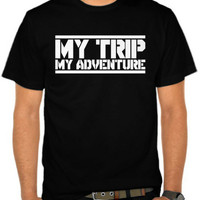 kaos size XL my trip my adventure