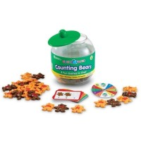 Learning Resources Goodie Games Counting Bears - LER-1180 Edukasi