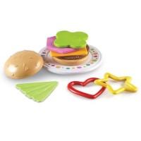 Learning Resources Burger Shapes - LER-1470 Mainan Edukasi
