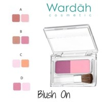 Wardah Blush On (Seri A - Seri D)