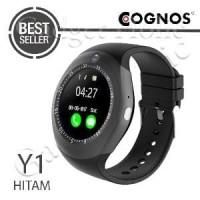 Cognos Y1 Smartwatch GSM Sim Card Smart Watch - Hitam