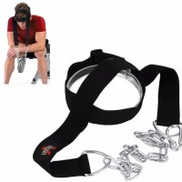PROMO - HEAD HARNESS BELT NECK TRAPS WEIGHT LIFTING CHAIN STRAP