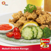 Ayam Karage Chicken Crispy Daging Ayam Enak dan Murah Mabell 500gr
