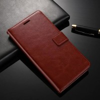 FLIP COVER KULIT Lenovo K6 Note - A7700 case hp dompet casing leather