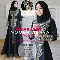 Jual Abaya Exclusive Etnik Gamis Jubah Dress Arab Turkey Bordir Gold Jumbo Murah