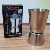SHUMA MEASURING CUP JIGGER STAINLESS STEEL 20 ML / 40 ML / SMC2040