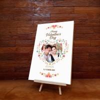 Kado kayu / hiasan dinding ( Valentine Series )