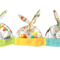 Baju Bayi Grosir Murah / LIBBY Topi Kelinci Newborn Motif