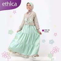 ETHICA OSK 83 Warna HIJAU TOSCA Baju Muslim Anak Perempuan
