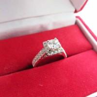 Cincin Berlian Simulant - Infinite Ring