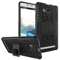 Case Rugged Lenovo A7700 /Soft+Hard Back Stand Dual Armor Cover