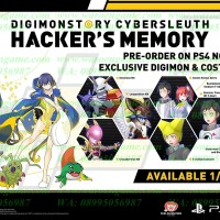 PS4 Digimon Story Cyber Sleuth: Hacker's Memory R3 / English PS4 Game