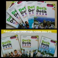 Paket 8 buku Detik UNBK Wajib plus USBN SMA program IPS unbk biologi