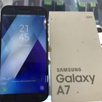 SAMSUNG GALAXY A7 2017 SECOND KOMPLIT MULUS