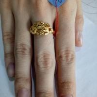 cincin emas asli kadar 916 ukuran 15 MURAH