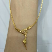 Harga kalung emas asli kadar 875 model etnik baru | Pembandingharga.com