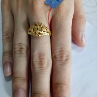 cincin emas asli kadar 916 model victori MURAH