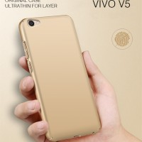Case VIVO V5/V5S premium silky warna gold aksesories hp grosir