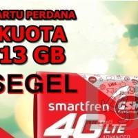 Kartu Perdana Internet Smartfren Kuota 13GB aktif Paket 13 GB Modem