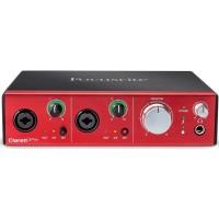 Focusrite Clarett 2Pre - Thunderbolt Audio Interface