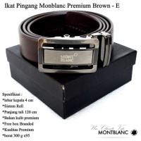 Ikat pinggang / sabuk / Gesper Monblanc Premium BROWN E