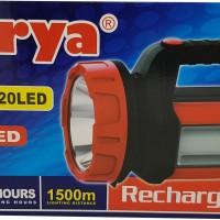 Senter lampu LED Surya SHT 20W Emergency 20LED White