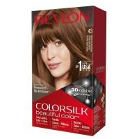 Revlon Colorsilk Hair Color Medium Golden Brown 43