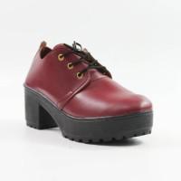 BEST SELLER Lilyshoes -sepatu heeled Boots dockmart simple casual