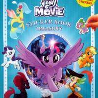 STICKER BOOK TREASURY MY LITTLE PONY THE MOVIE 350 REUSABLE STICKERS