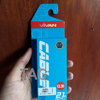 Kabel Data iPhone 5 6 Vivan original pendek Data Cable charge cas hp
