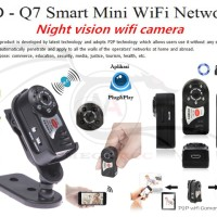 Ip Camera Q7 Surveilliance Spy Camera Video Cam Recorder