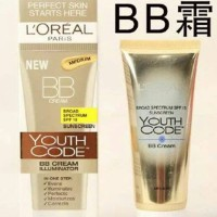 LOREAL PARIS NEW BB CREAM YOUTH CODE T2909