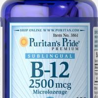 VITAMIN B12 B 12 100 Tablets USA SARAF PURITAN