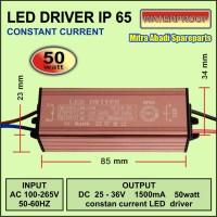 LED Driver AISE 50 Watt 1500 mA Casing Aluminium IP65 real 50W/DQ-50W