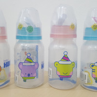Jual Botol susu bayi Huki PP SP SO 120ml dot ortho gepeng BPA free Murah