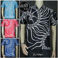 Model Baju Kemeja Batik Modern Pria || Assikah Batik 01