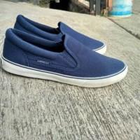 Airwalk Cylo blue navy jeans sepatu slip on slop mirip wakai ori asli