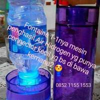 Hidrogen Fontaine mesin yg mengubah Air mineral menjadi Air Hidrogen
