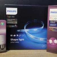 Paket Philips Hue - 1 Strip Base, 1 Strip Extension, 1 Bulb