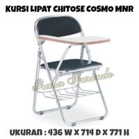 KURSI LIPAT | KURSI KULIAH DENGAN MEMO TABLE |KURSI COSMO MNR CHITOSE
