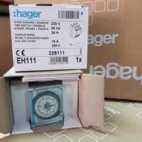TIMER / TIME SWITCH / HAGER EH111 SWITCH ANALOG OTOMATIS 24H