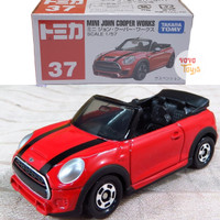 Tomica Reguler 37 Mini John Cooper Works Red (Non Sticker)